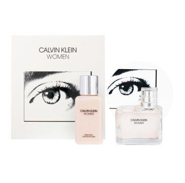 Calvin Klein Women – zestaw woda perfumowana spray (100 ml) + balsam do ciała (100 ml)