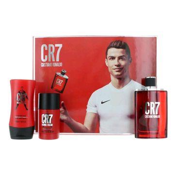 Cristiano Ronaldo CR7 zestaw woda toaletowa spray 100ml + dezodorant sztyft 75g + balsam po goleniu 100ml