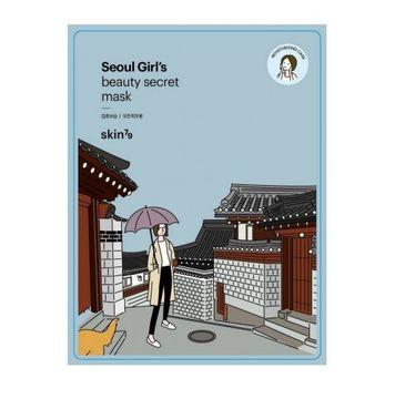 Skin79 Seoul Girl's Beauty Mask Moisturizing Care – nawilżająca maska w płacie (20 g)