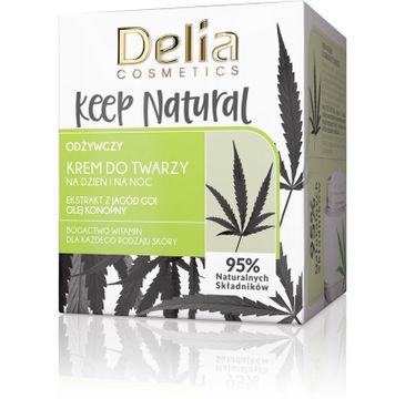 Delia krem do twarzy (Keep Natural na dzień i na noc odżywczy 50 ml)