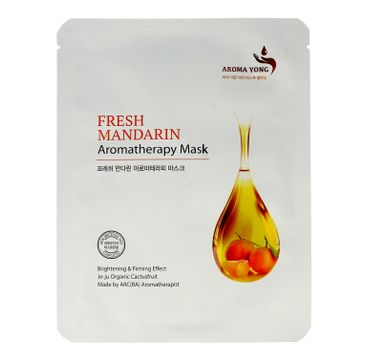 Aroma Yong – maska w płacie Fresh Mandarin (1 szt.)