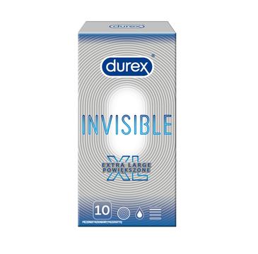 Durex – Invisible Extra Large prezerwatywy powiększone (10 szt.)