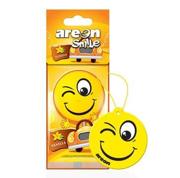 Areon Smile Dry – odświeżacz do samochodu Vanilla (1 szt.)