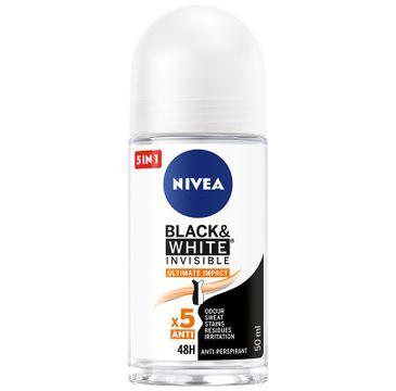 Nivea Ultimate Impact roll-on damski antyperspirant B&W 48 h 1 szt.