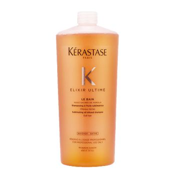 Kerastase – Elixir Ultime Shampoo szampon do włosów wzbogacony olejem marula (1000 ml)