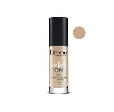 Lirene Perfect Tone – fluid dopasowujący się do koloru cery 103 Sand (30 ml)
