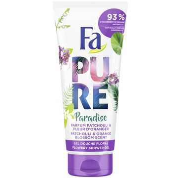 Fa – Pure Paradise Shower Gel żel pod prysznic Patchouli & Orange (200 ml)