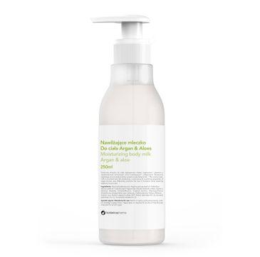Botanicapharma – Moisturizing Body Milk nawilżające mleczko do ciała Argan i Aloes (250 ml)
