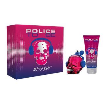 Police To Be Miss Beat zestaw woda perfumowana spray 75ml + balsam do ciała 100ml