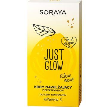 Soraya Just Glow – krem nawilżający do cery normalnej z witaminą C (50 ml)