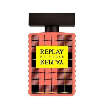 Replay – Signature Reverse For Woman woda toaletowa spray (50 ml)