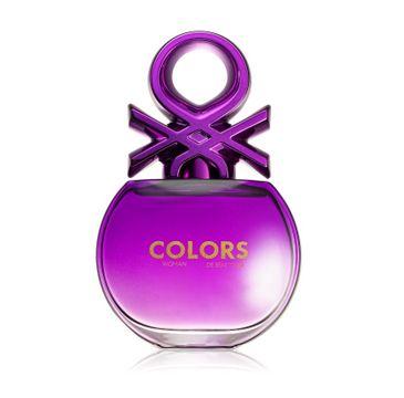 Benetton – Colors Purple Woman woda toaletowa spray (50 ml)