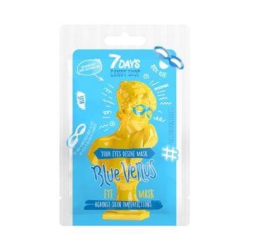 7DAYS Candy Shop Blue Venus maska do skóry wokół oczy usuwająca cienie (10 g)