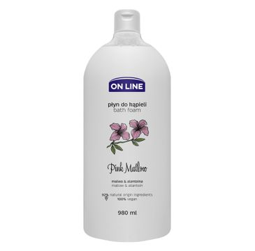 On Line – Płyn do kąpieli Pink Mallow (980 ml)