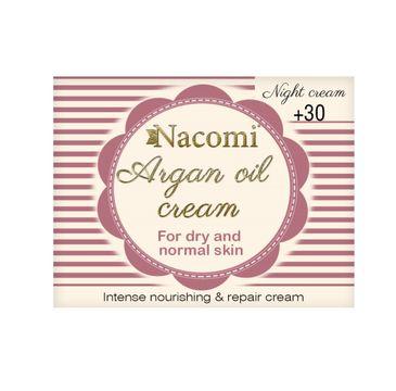 Nacomi – Argan Oil Cream krem arganowy z kawasem hialuronowym 30+ na noc 50ml (1 szt.)