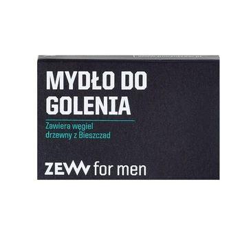 Zew For Men – Mydło do golenia z węglem drzewnym z Bieszczad (85 ml)