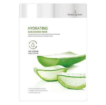 BeauuGreen Hydrating Aloe Essence Mask – nawilżająca maseczka do twarzy Aloes (23 g)