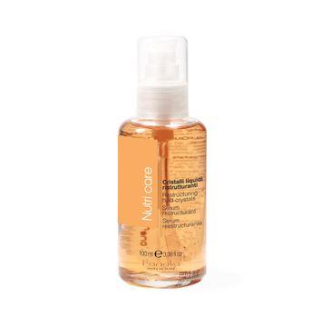 Fanola Nutri Care Restructuring Fluid – płynne kryształki do włosów (100 ml)