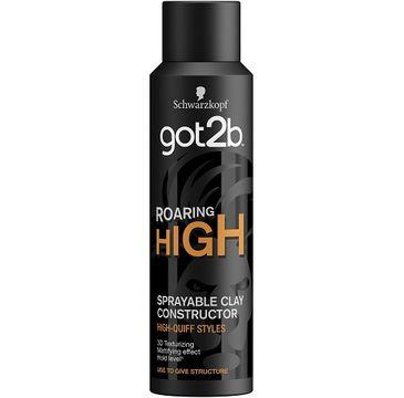 Got2B – Roaring High Sprayable Clay Constructor modelująca glinka do włosów w sprayu (150 ml)