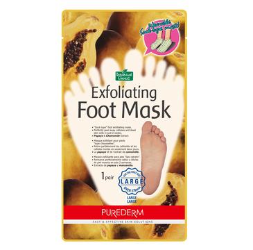 Purederm Exfoliating Foot Mask – maska złuszczająca do stóp w formie skarpetek  Large (1 para)