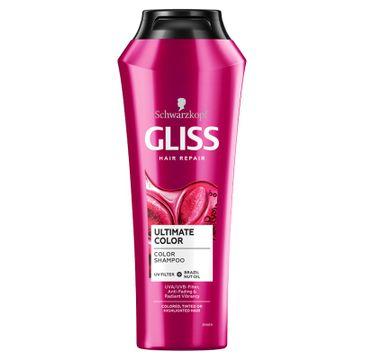 Gliss – Szampon do włosów farbowanych i z pasemkami Ultimate Color Shampoo (250 ml)