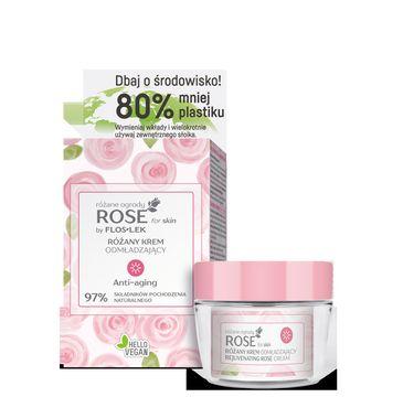Floslek – Różany krem odmładzający na dzień (50 ml)
