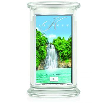 Kringle Candle – świeca zapachowa z dwoma knotami Fiji (623 g)