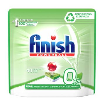 Finish All In 1 Zero – tabletki do zmywarki (40 szt.)