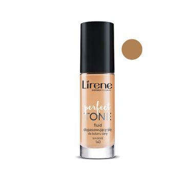 Lirene Perfect Tone – fluid dopasowujący się do koloru cery 140 Sun Beige (30 ml)
