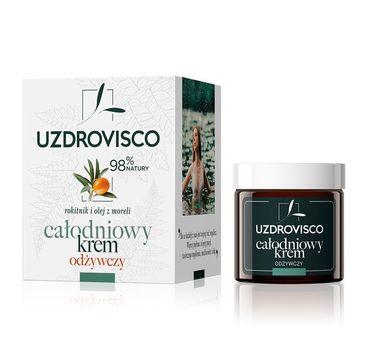 UZDROVISCO – Całodniowy krem do twarzy odżywczy Rokitnik i Olej z Moreli (50 ml)