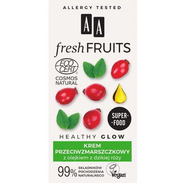 AA – Fresh Fruits krem przeciwzmarszczkowy z olejkiem z dzikiej róży (50 ml)