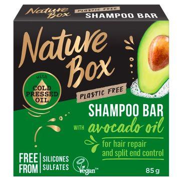 Nature Box Shampoo Bar – szampon do włosów w kostce Avocado Oil (85 g)