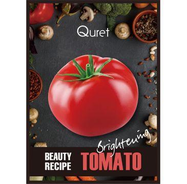 Quret – Beauty Recipe Mask Brightening rozjaśniająca maska w płachcie Pomidor (25 g)