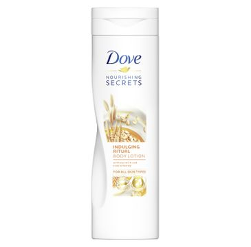 Dove Nourishing Secrets Indulging Ritual Oat Milk & Honey – balsam do ciała (250 ml)