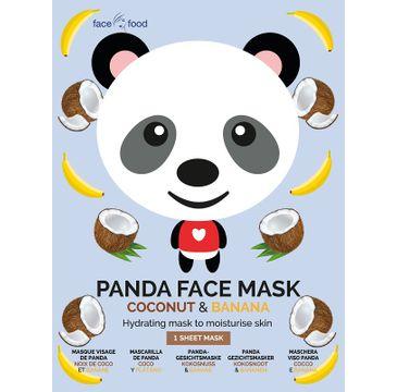 7th Heaven – Panda Face Mask nawilżająca maseczka w płachcie Coconut & Banana (1 szt.)
