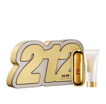 Carolina Herrera – 212 VIP Woman zestaw woda perfumowana spray 80ml + balsam do ciała 100ml (1 szt.)