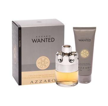Azzaro Wanted zestaw woda toaletowa spray 100ml + żel pod prysznic 100ml
