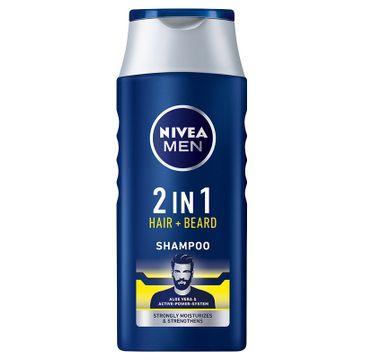 Nivea Men Protect & Care - szampon do pielęgnacji  włosów i brody (400 ml)