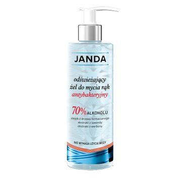 Janda – odświeżający żel do mycia rąk antybakteryjny (400 ml)