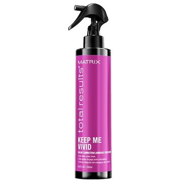 Matrix Total Results Keep Me Vivid Color Laminator – spray do laminowania włosów farbowanych (200 ml)