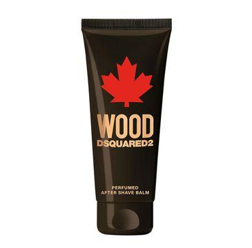 Dsquared2 – Balsam po goleniu Wood Pour Homme (100 ml)