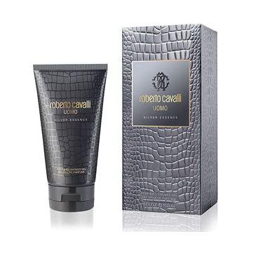 Roberto Cavalli Uomo Silver Essence – żel pod prysznic (150 ml)