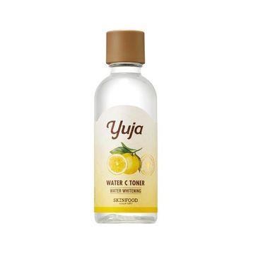 Skinfood Yuja Water C Toner – rozświetlająco-nawilżający tonik do twarzy z witaminą C (180 ml)