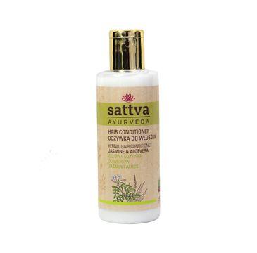 Sattva Herbal Hair Conditioner odżywka do włosów Jasmine & Aloevera 210ml
