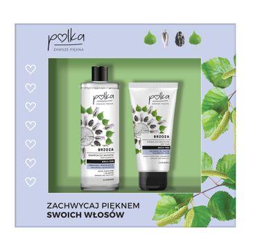 Polka – Zestaw szampon do włosów Brzoza odbudowa+rewitalizacja 400ml + maska do włosów Brzoza regeneracja+połysk 200ml (1 szt.)