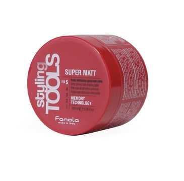 Fanola Styling Tools Super Mat – matująca pasta do włosów (100 ml)