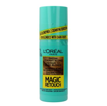 L'Oreal Magic Retouch (spray do retuszu odrost贸w nr 7.3 艣redni i ciemny blond 75 ml)