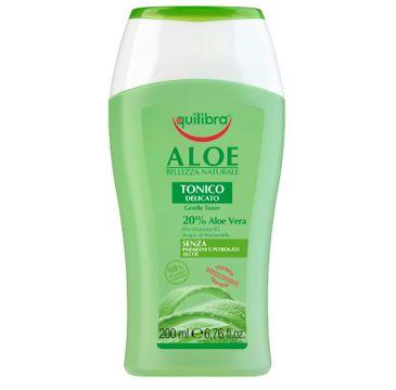 Equilibra – Aloe Gentle Toner tonik aloesowy do twarzy (200 ml)
