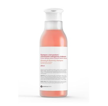 Botanicapharma – Ginseng & Rosemary Shampoo szampon przeciw wypadaniu włosów z żeń-szeniem i rozmarynem (250 ml)