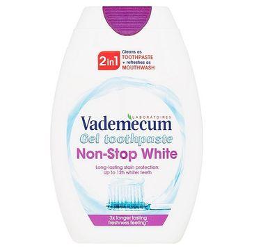 Vademecum – 2in1 Toothpaste&Mouthwash Non-Stop White pasta do zębów i płyn do płukania jamy ustnej (75 ml)